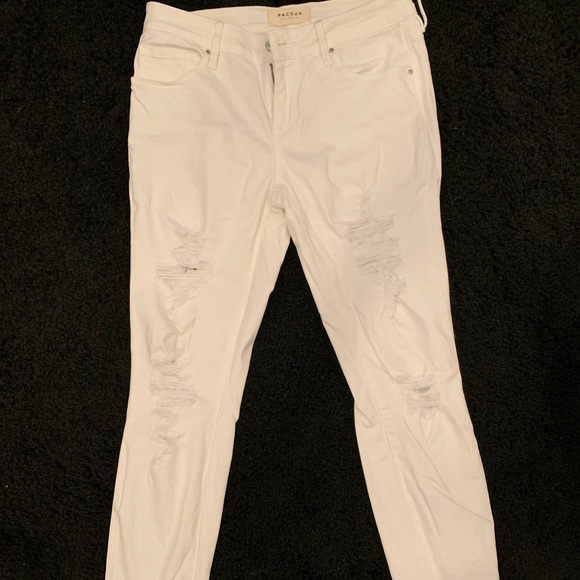 PacSun Denim - White ripped jeans